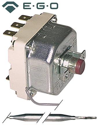 palux Seguridad Termostato EGO Tipo 55.31522060 para lavavajillas, Térmica Armario