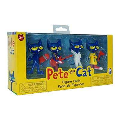 Pete the Cat - Collectible Figure Pack: Toys & Games