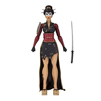 DC Collectibles Designer Series Bombshells by Ant Lucia Katana Action Figure, 7 inches: DC Collectibles: Toys & Games