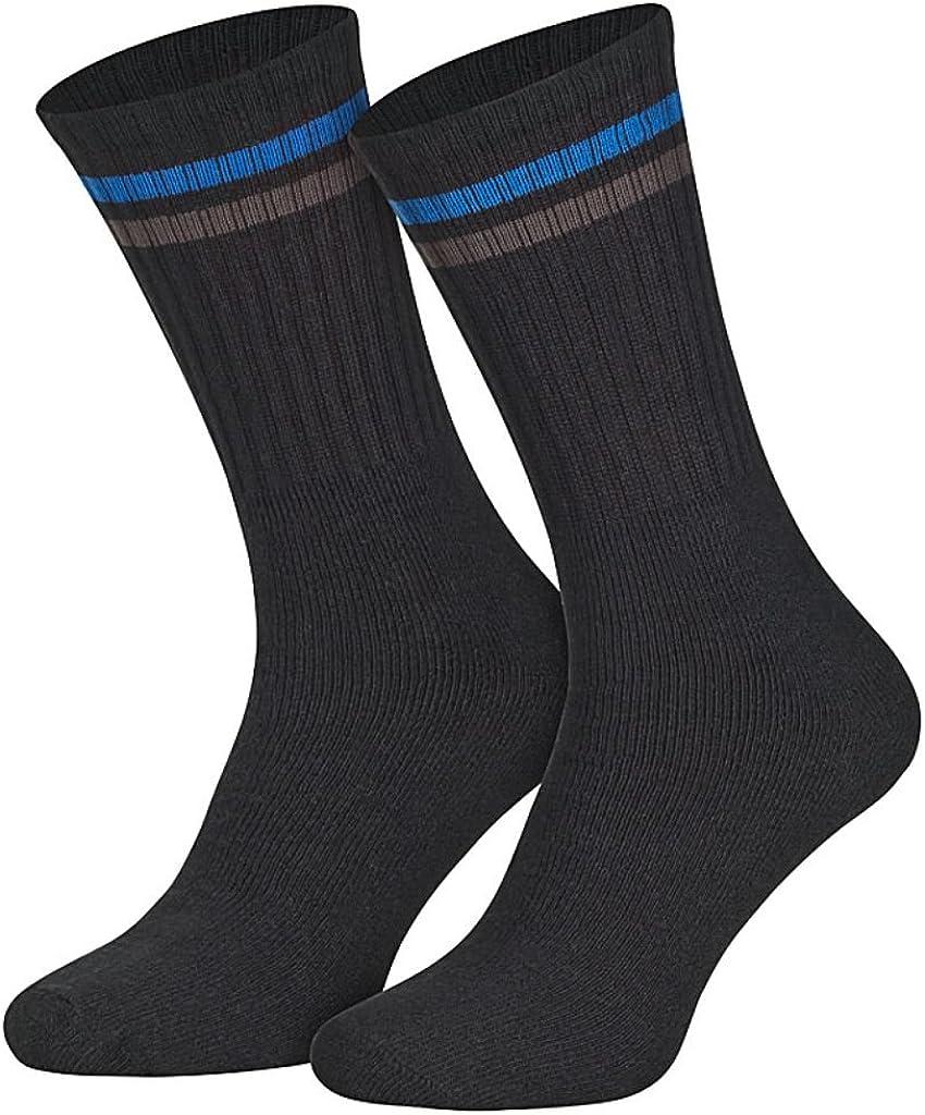 16 paia di calzini sportivi da tennis con anello 39-42//43-46 Sockenversandhandel