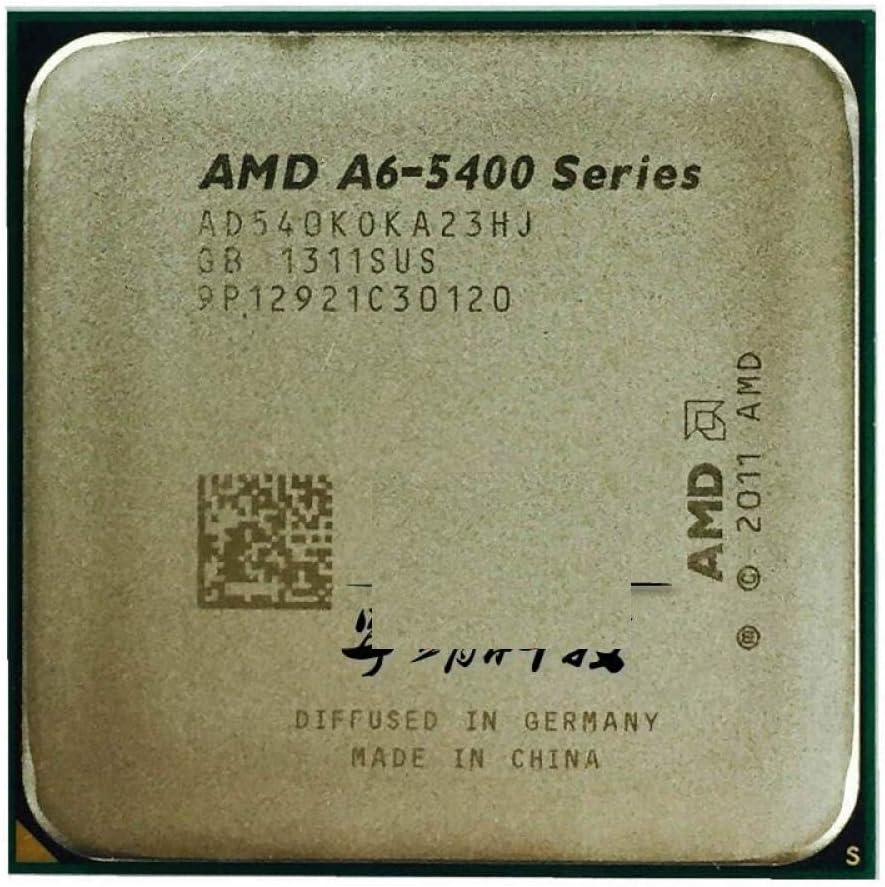 AMD A6-Series A6-5400 A6 5400 K 5400K 3.6 GHz Dual-core CPU Processor AD540KOKA23HJ Socket FM2