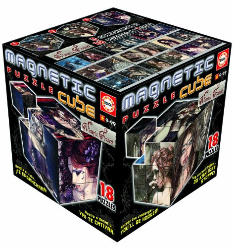Educa – 14061 – Puzzle Cubes magnetisch – 27 Cubes Victoria Frances