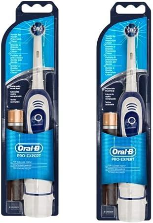 Oral-B Braun Pro Expert DB4010 - Cepillo de dientes a pilas (2 ...