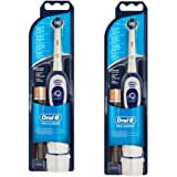 2 Braun Oral-B Advanced Power 400 Battery-Operated Toothbrush (Duo Pack)