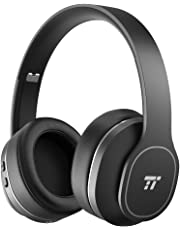 Noise Cancelling Headphones, TaoTronics Wireless Bluetooth Headphones: ANC Over Ear Earphones with 24 Hrs Playtime, Foldable Soft Protein Ear Pads, Design for Train or Air Trave, BH047 Upgrade