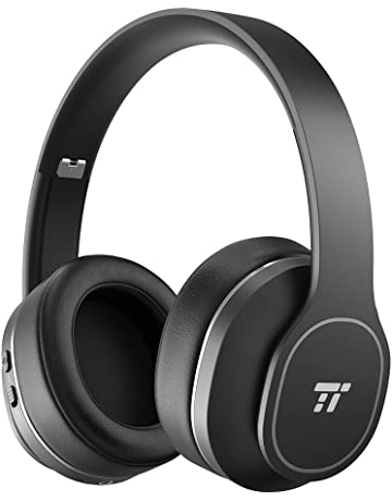 3dad465bc5d Noise Cancelling Headphones, TaoTronics Active Noise Cancelling Bluetooth  Headphones Durable Over Ear Headphones with 24