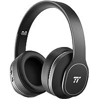 Active Noise Cancelling Kopfhörer ANC Bluetooth Kopfhörer TaoTronics Robuste Ohrumschließende Kabellos Kopfhörer mit Weichen Protein-Ohrpolstern 24 STD Wiedergabezeit CVC 6.0