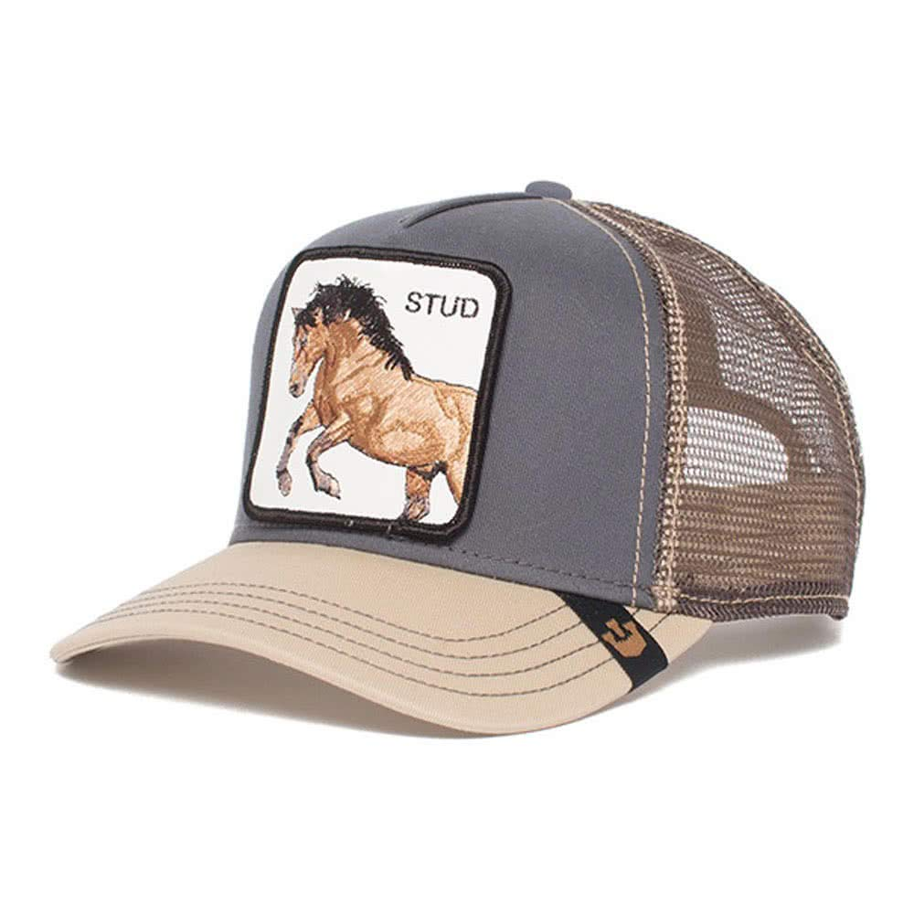 Goorin Brothers Unisex Animal Farm Snap Back Trucker Hat Grey You Stud One Size by Goorin Bros. (Image #2)