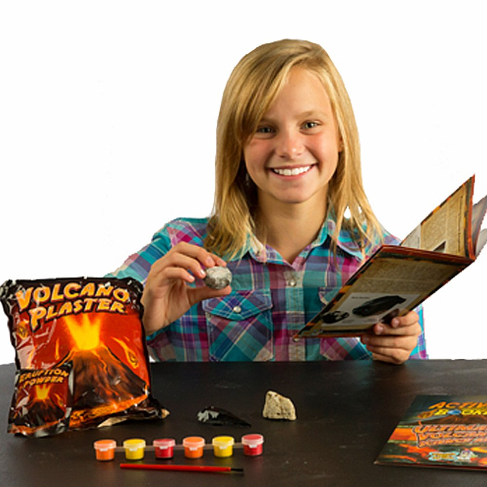DRCOOL Ultimate Volcano Science Kit Craft a Volcano and Make It Erupt