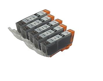 【クリックで詳細表示】【Ecolink】Canon キヤノン BCI-326BK ブラック 単品5個セット ICチップ付き BCI-326+325/6MP & BCI-326+325/5MP 対応 互換インクカートリッジ