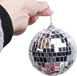 Bosun(TM) New Christmas Decor Balls Bar Mirror Balls Different Sizes For Christmas Decoration