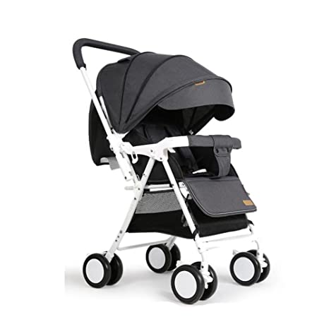 YXINY Carritos y sillas de paseo Cochecitos Puede Acostarse Plegable Portátil Ligero Niño Recién Nacido Carretilla