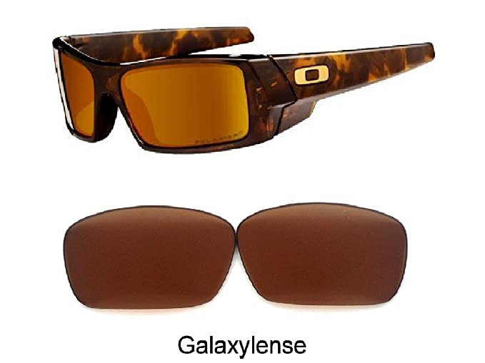 33ded227f5 Amazon.com  Galaxy Prizm Technology Replacement Lens For Oakley Fuel Cell  Sunglasses Brown Color  Clothing