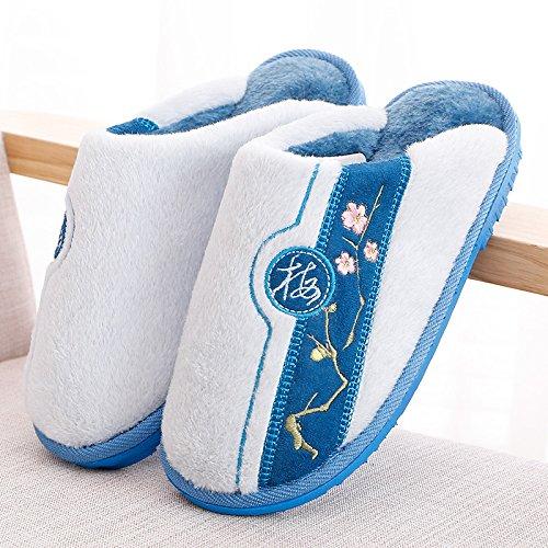 Zapatillas de baño,36 purpura El cielo azul 40 / 41