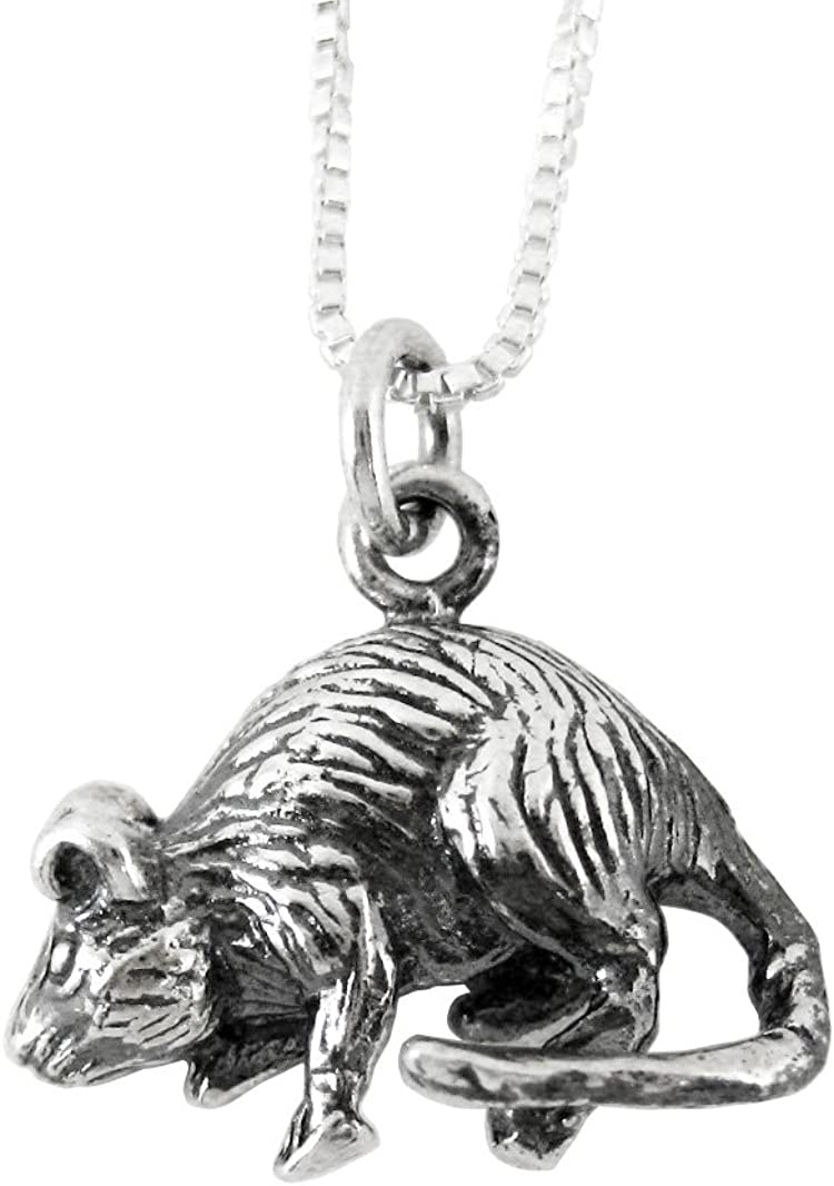 Sterling Silver Chinese Zodiac Charm Pendant,Silver Animal Charm,Sterling Silver Zodiac jewelry