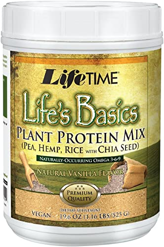 Lifetime Life's Basics Plant Based Protein Powder