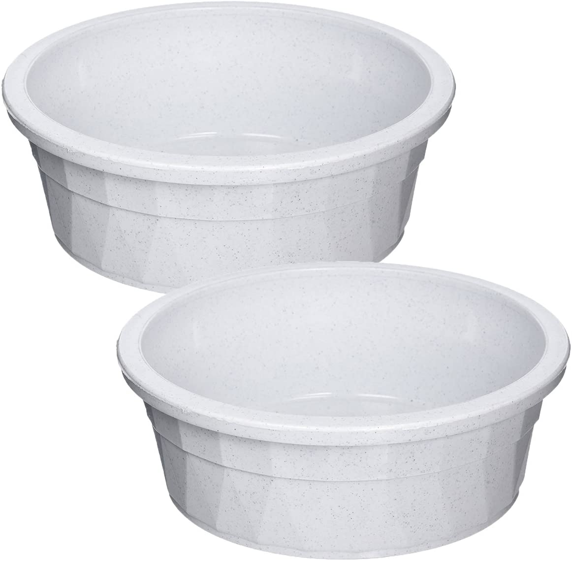 Van Ness Heavyweight Jumbo Crock Dish, 106 Ounce, Grey ( 2 Pack)