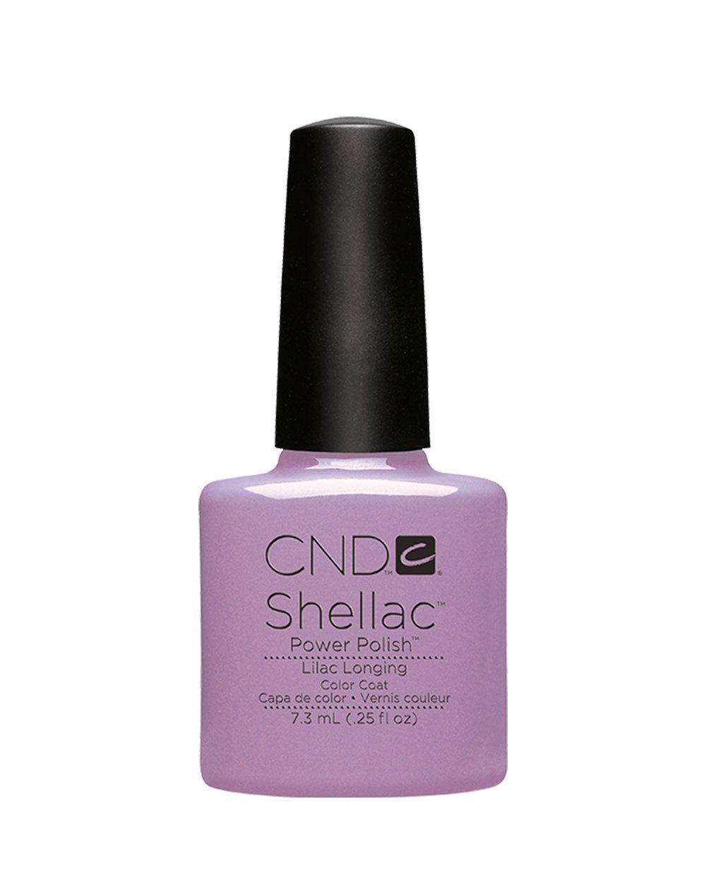 CND Shellac Esmalte de Uñas de Gel, Tono Negligee: Amazon.es: Belleza