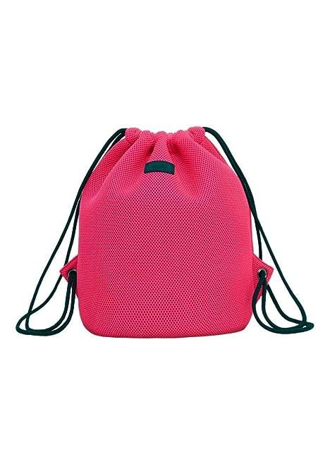MANGO - Bolso de Mochila mujer, color Rosa, talla: Amazon.es: Zapatos y complementos