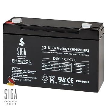 Akku Batterie Ersatzakku Peg Perego 6V 10Ah  6Volt  6Volt  Kinderfahrzeuge Batteriebetriebene Fahrzeuge