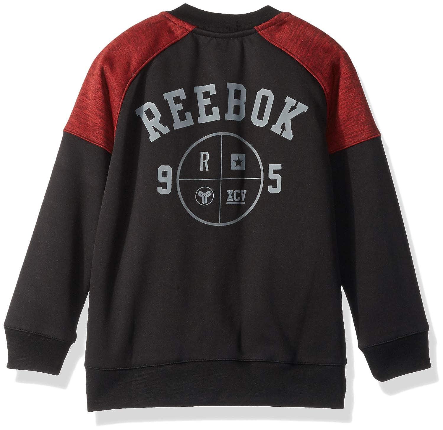 Reebok Boys Fleece Varsity Jacket Q/_2430