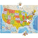 United States Magnetic 100 PCS Jigsaw Puzzle Build On Table Or Refrigerator