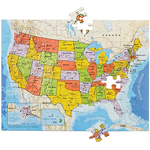 - United States Magnetic 100 PCS Jigsaw Puzzle Build On Table Or Refrigerator