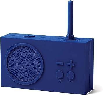 Lexon Tykho 3 Fm Radio Bluetooth Lautsprecher Dunkelblau Bürobedarf Schreibwaren