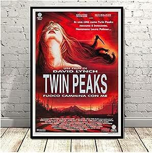 yhnjikl Twin Peaks TV Series Muestra Película Clásica Anime ...