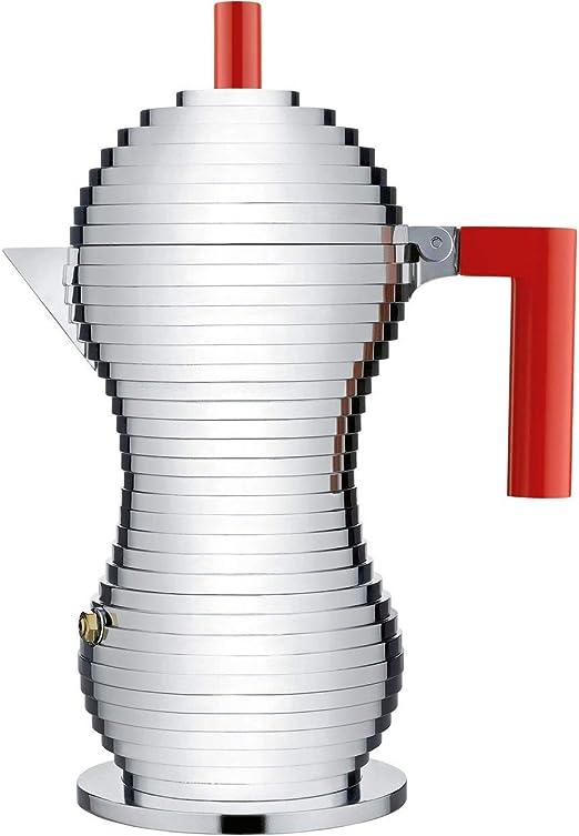 Alessi - Pulcina MDL02/6 R - Cafetera Inducción de Diseño para ...