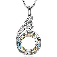Kate Lynn - Nirvana de Fénix - Collar, Simbolizando la Suerte y la Renovación, Cristales de Swarovski, Diseño Original, Elegante Caja de Regalo, Joyería de Mujer