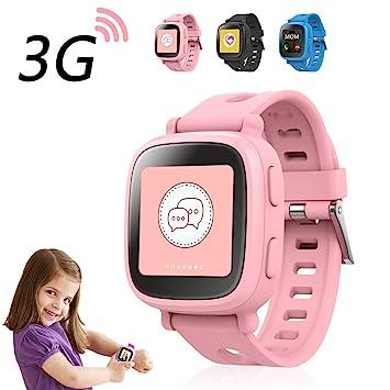"Oaxis WatchPhone, Reloj inteligente para niños, 1.54"", TFT, Pantalla táctil,"