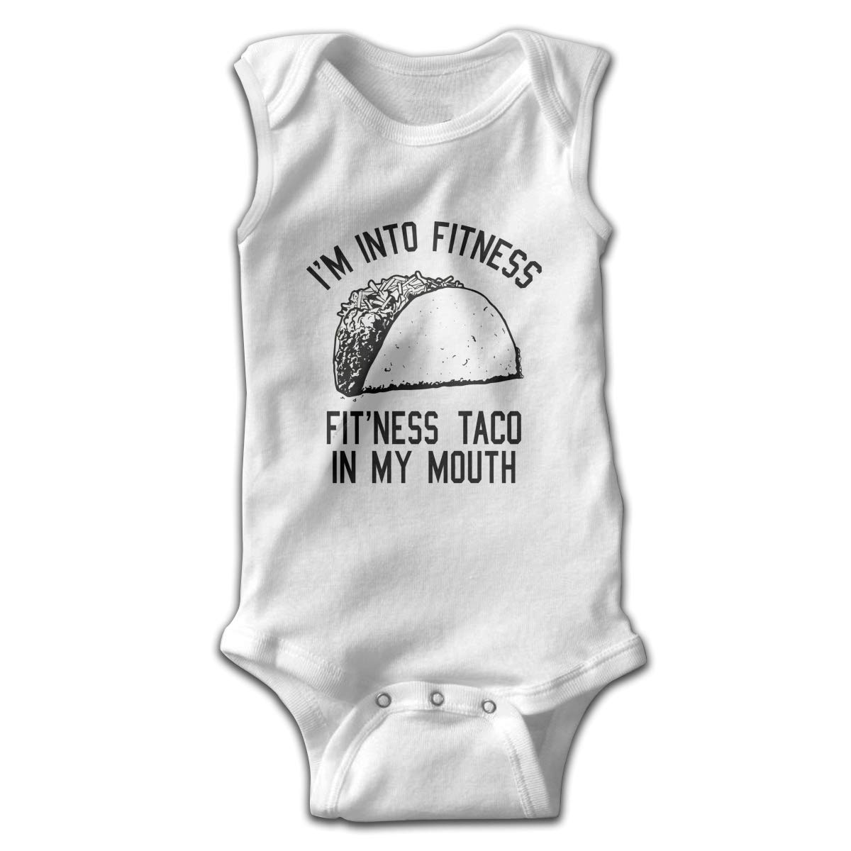 Efbj Toddler Baby Boys Rompers Sleeveless Cotton Jumpsuit,Im Into Fitness Outfit Autumn Pajamas