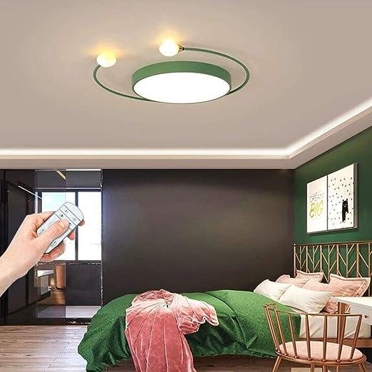 Plafonnier Led Rond Dimmable Lampe De Chambre Moderne Plafonnier