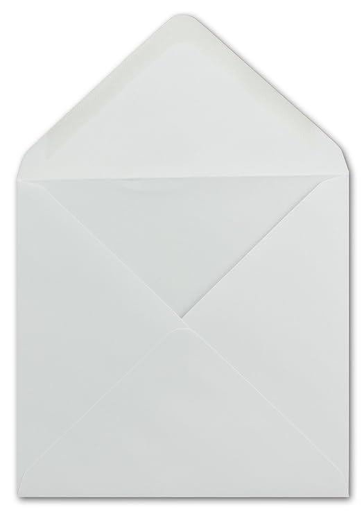 Spitze Verschlussklappe Post-Umschl/äge ohne Fenster ideal f/ür Weihnachten Gru/ßkarten Einladungen von Ihrem Gl/üxx-Agent 200 DIN C6 Briefumschl/äge Weiss 80 g//m/² Nassklebung 11,4 x 16,2 cm
