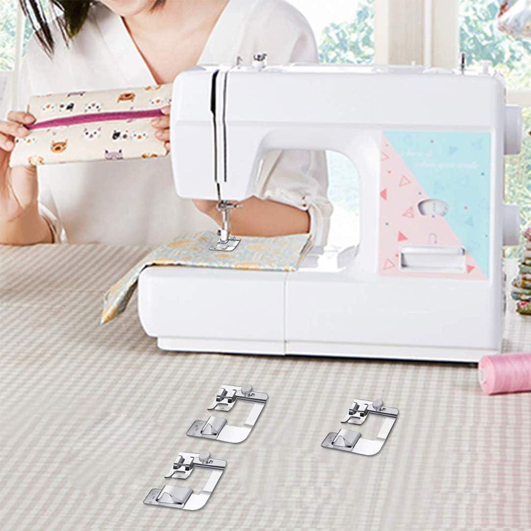 Prensatelas para máquina de coser de 3 tamaños,1 pulgada,3/4 ...