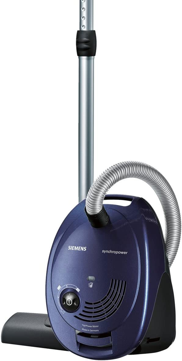 Siemens VS06B1110 - Aspiradora (700 W, B, 34 kWh, 10 A, Aspiradora cilíndrica, Bolsa para el polvo): Amazon.es: Hogar