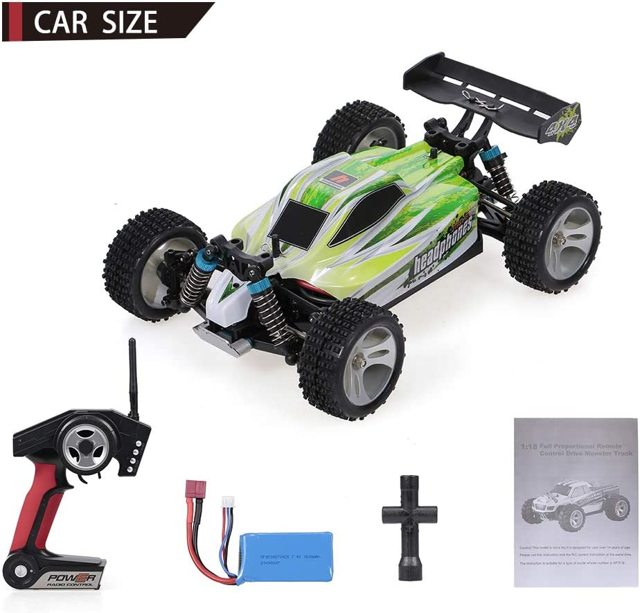 New WLtoys A959-B 1//18 4WD Buggy Off Road RC Car 70km//h by KTOY