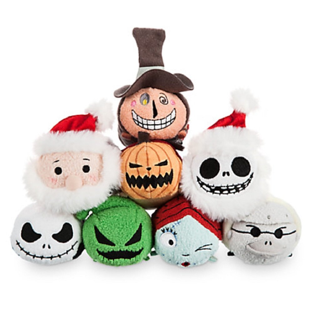 Amazon.com: Disney Store Nightmare Before Christmas Set of 8 Mini ...