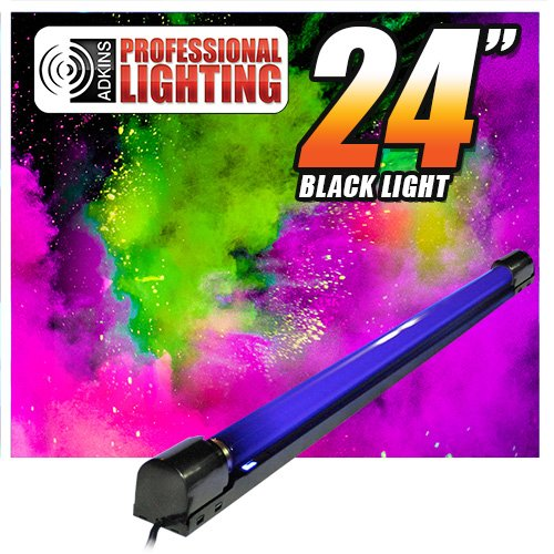 24'' Bright - Black light with tube & fixture
