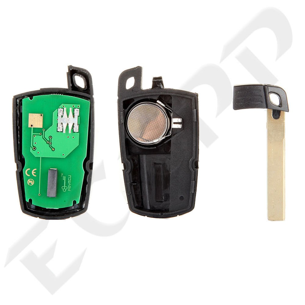 ECCPP 2X 3 Button Replacement Keyless Entry Remote Control Ignition Key Fob for BMW Series KR55WK49127 315MHz by ECCPP (Image #4)