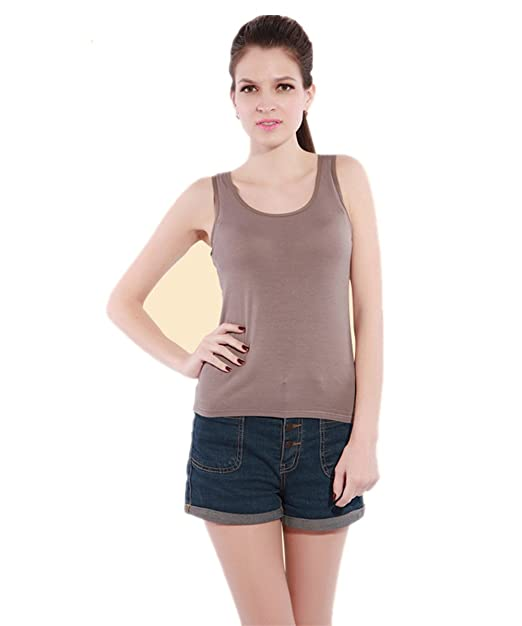 edb9a724d6a73 BIFINI Womens Sleeveless Yoga Sports Shelf Bra Camisole Tank Tops   Amazon.ca  Clothing   Accessories
