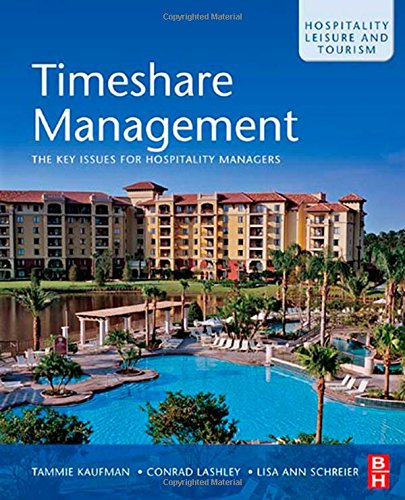 Timeshare Management: The key issues for hospitality managers (Hospitality, Leisure and Tourism) (0750685999 5968959) photo