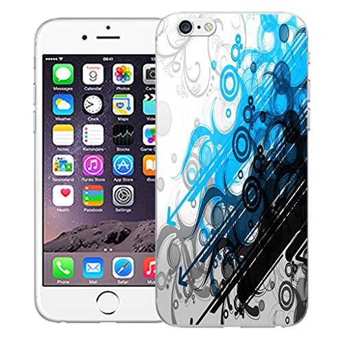 "Mobile Case Mate iPhone 6S Plus 5.5"" Silicone Coque couverture case cover Pare-chocs + STYLET - Metaphysical pattern (SILICON)"