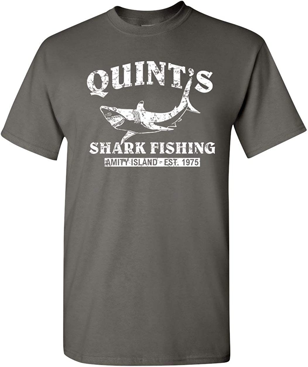 Quint's Shark Fishing - Jaws Retro Men's T-Shirt