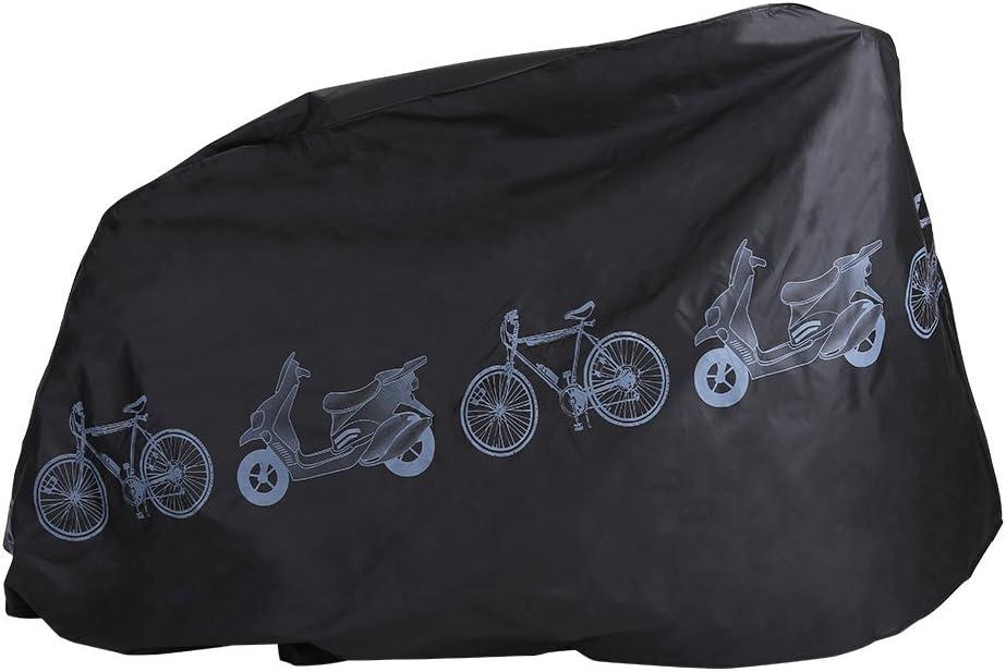 a Prueba de Polvo para Motocicleta Protector de Bicicleta para Exteriores Funda Impermeable para Motocicleta Dilwe para Bicicletas de monta/ña y Carretera Lluvia
