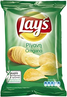 product image for Lay's Potato Chips From Greece with Oregano - 4 Packs X 200g (7.0 Ounces Per Pack)