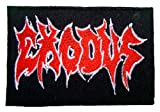 : EXODUS Thrash Metal Band Logo T Shirts ME07 iron on Patches