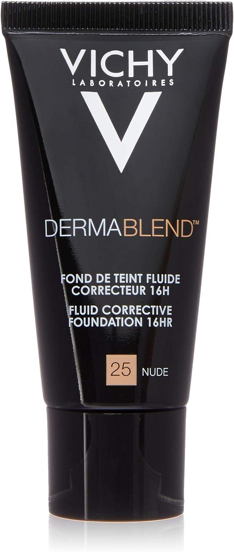 Vichy Dermablend Base De Maquillaje Correctora 16h Spf35 30 Ml Color Nude 25 Amazon Es