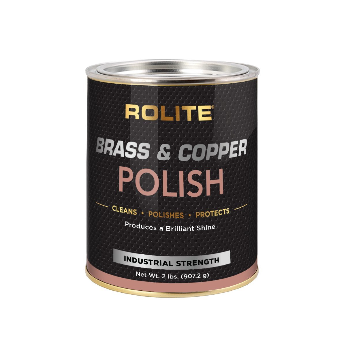 Rolite Brass & Copper Polish (2lb) Instant Polishing & Tarnish Removal on Railings, Elevators, Fixtures, Hotels, Cruise Ships, Office Buildings